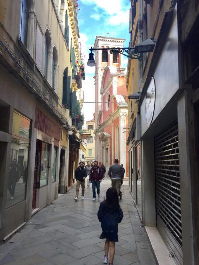 5歳7歳子連れ北イタリアとサンマリノ2 ベネチア編
