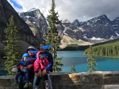 2歳男子・6歳女子との(子連れ)カナダ旅行☆バンフ国立公園巡り