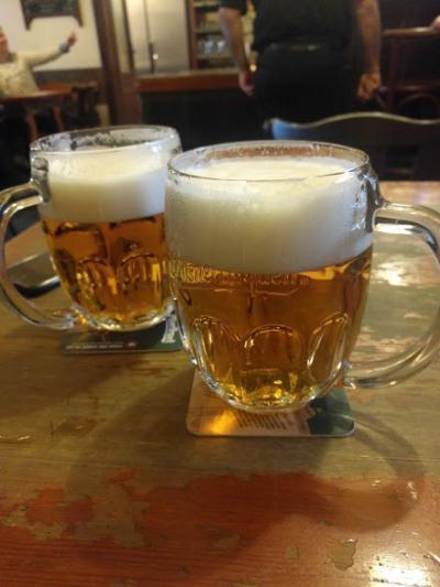 ナスドラビー!!1度目のプラハでビール旅!【1日目】