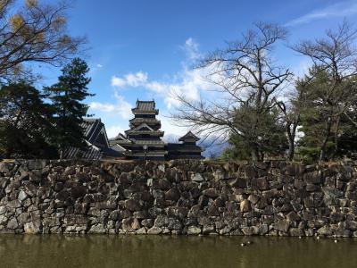 【2017年11月】信州めぐりフリーパスで温泉&お城巡り(後編)