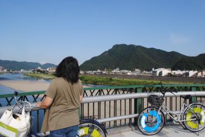 岐阜へ! その10 円徳寺、道三塚、鷺山城と自転車で巡り、岐阜をあとにします。