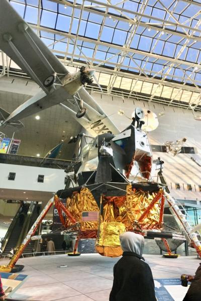 ワシントンDCに到着、とりあえず国立航空宇宙博物館へ~2017年11月