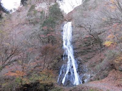 2017秋 奥秩父:日本百名山の両神山と日本百名瀑の丸神の滝
