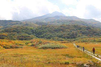 羽黒山と鳥海山