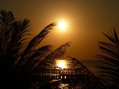 バリ島 楽園のホテルへ⑤スパ体験とロマンティックな夕景