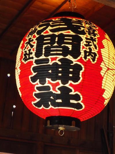河口浅間神社 富士山噴火沈静を願って静かに鎮座。七本杉と巨木に圧倒されます!