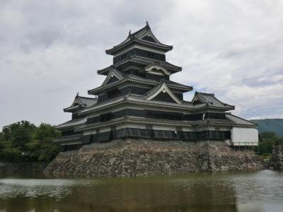 青春18きっぷ 夏の陣.3 信州野沢温泉ほっこり旅・その1.鈍行列車で信州へ.松本に寄り道。