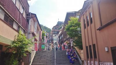 群馬県 伊香保温泉と葛飾区 柴又 (6-2) 石段街を練り歩く