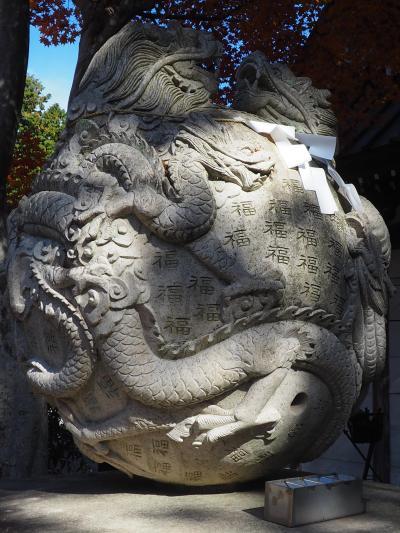 富士御室浅間神社 富士山最古の神社・武田信玄公祈願所・百福の龍宝珠