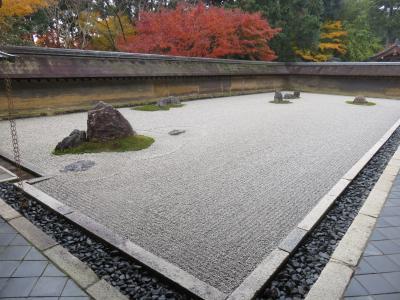 京都の紅葉ー龍安寺(今回のベストの場所)-