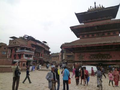 地震1か月前のネパールへ行きました。