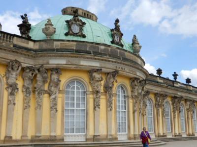 2017GW 初の東ドイツ~プラハ 【35】ベルリン3日めはポツダムへ サンスーシ宮殿<お庭散策>