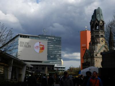 2017GW 初の東ドイツ~プラハ 【37】ベルリン3日め ポツダムから戻りZoo付近散策
