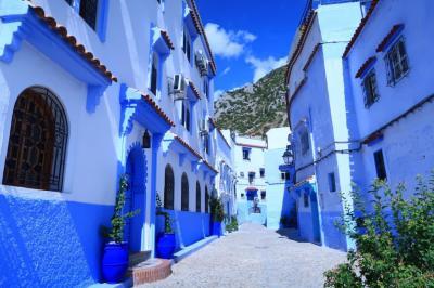 子育てひと段落 魅惑のモロッコ ③ 青い村シャウエン