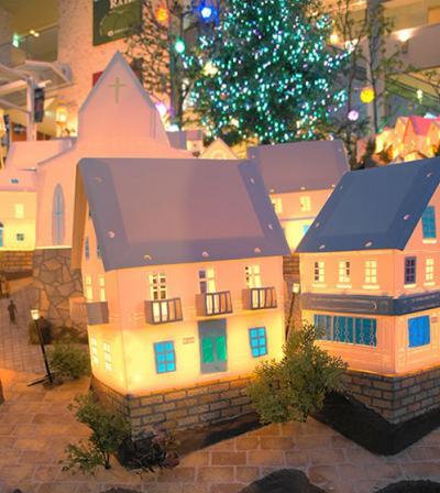 名古屋星ヶ丘テラスのミニチュアハウス(PPハウス)の街並みが素敵