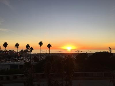 最高な夕陽