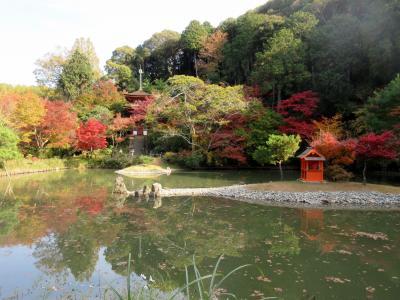 浄瑠璃寺と岩船寺の三重の塔
