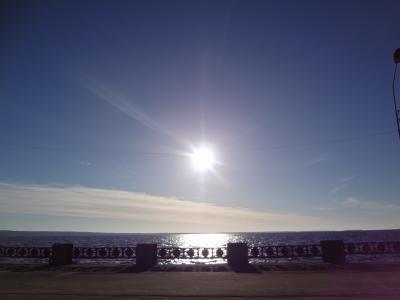 遥かなる大地に祝福を 6.1 朝日と水辺に癒される