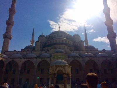友人家族とイスタンブール観光1日目