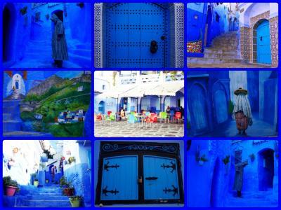 【3・2】ロッカンスタイルに憧れて、ざくっとモロッコ(*´∀`*) 夜のシャウエン・朝のシャウエン
