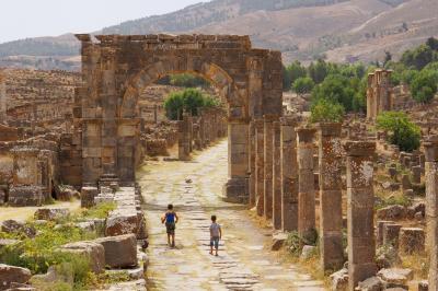 2017アルジェリアで夏休み その6美しかったジェミラ遺跡