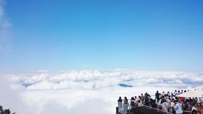 長野県 名湯巡りと息をのむ絶景の雲海 (9-9) 運命の朝、雲海の行方