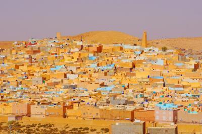 2017アルジェリアで夏休み その10中世イスラム文化が残るムザブの谷~メリカ