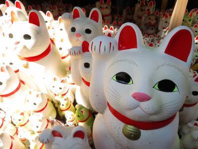 【東京散策69-1】2年半ぶりの世田谷豪徳寺で(=^・^=)招き猫まみれっ!!