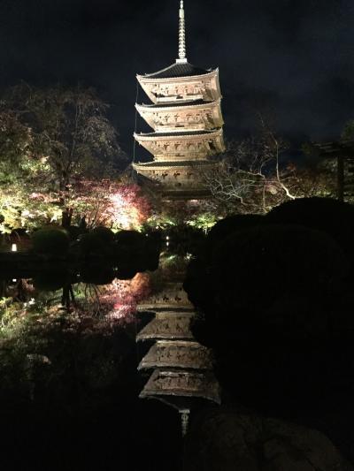 子育てひと段落 2017秋の京都、しかも週末。
