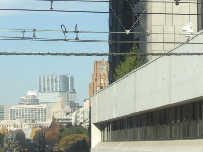 時計台のある建物(日比谷公会堂)