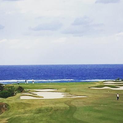 沖縄でゴルフ&出張9