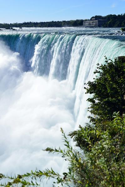 カナダ(20) ナイアガラの滝クルーズ