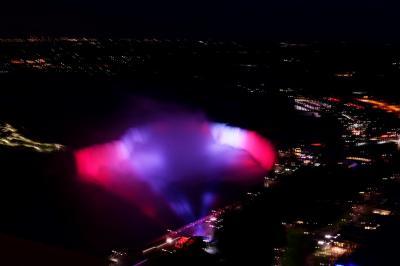 カナダ(21) 完 スカイロンタワーからナイアガラの滝