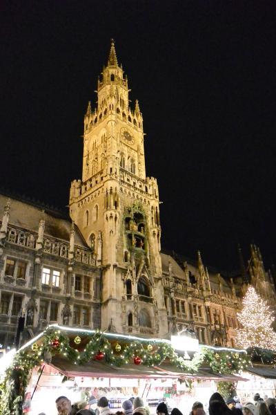 一時帰国の途中でちょっとだけミュンヘンのクリスマスマーケット