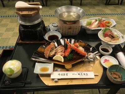 週末、気軽に北海道グルメを満喫!網走の夜は寒かったぁ~