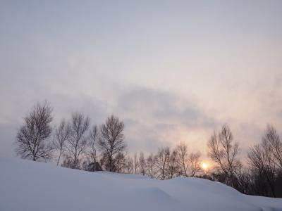 2018年2月 真冬の北海道を半分横断の旅 ~「銀婚湯」「マッカリーナ」「定山渓第一寶亭留 翠山亭」「ニセウコロコロ」