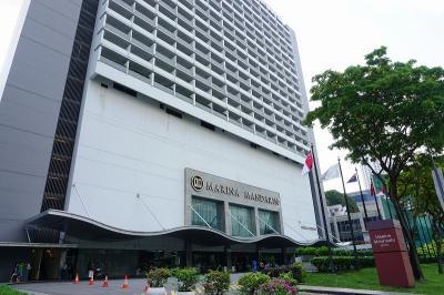 シンガポール3日間・2(ホテル編 マリーナマンダリン)