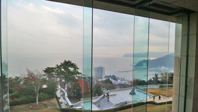 MOA美術館本館と茶の庭ライトアップ
