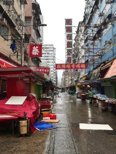 3泊4日香港1日台風3