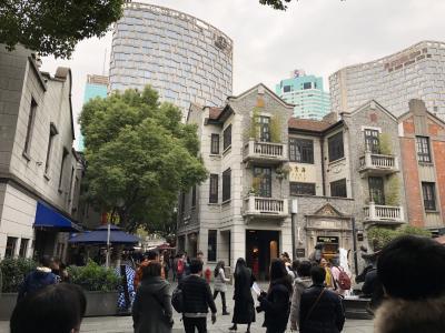 今年4度目の上海、一日で代表スポットをまわるの巻④新天地と外灘と豫園