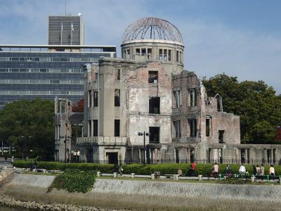 秋の広島・岩国の旅3日目 原爆ドーム 広島城