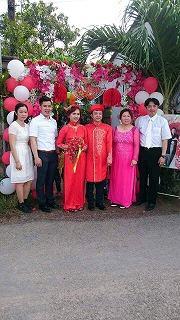 弟結婚式inベトナム