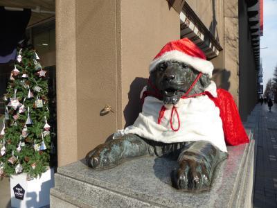 2017年12月 クリスマスシーズンの札幌を散歩しました