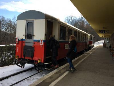 '17,12 冬旅ブダペスト Vol.3 子供鉄道に乗ってみた