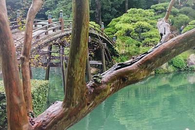 香川・岡山ひとりアート巡りの旅。(3日目 栗林公園からのこんぴらさん。)