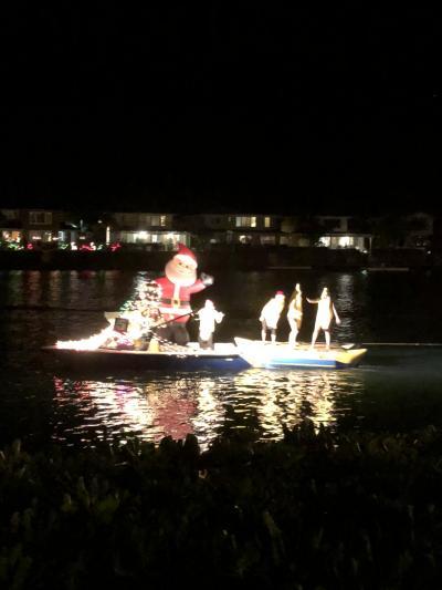 ハワイカイ、ボートパレード