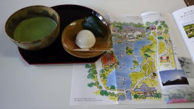 水前寺公園と熊本城