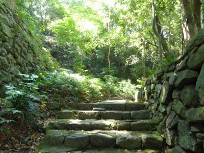 初秋の愛媛旅行♪ Vol17(第2日) ☆宇和島:「宇和島城」ゆったりと城外へ歩く♪