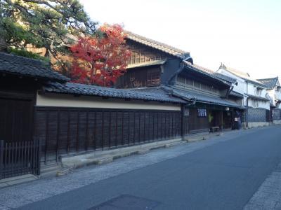 旧東海道有松の街並。知人を連れてくるのには最適な場所です。
