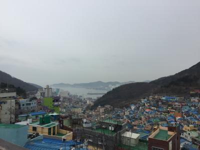 娘と一緒に1泊2日の釜山旅。